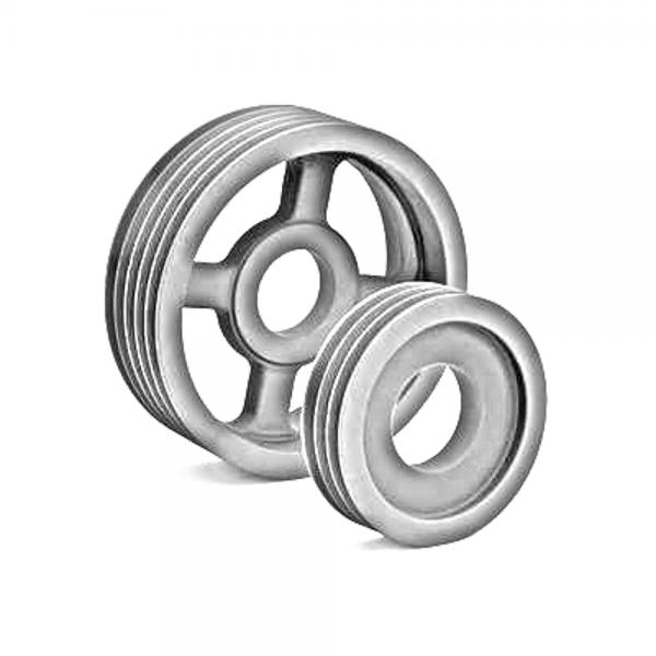 SPZ 132mm (dw)/1-rillig (DIN 2211) Keilriemenscheibe für Taper-Buchse 1610